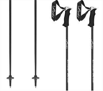Leki Elite Lady Women's Pair Of Ski Poles 110cm Black/Anthracite/White