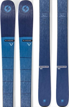 Blizzard Adult Unisex Bushwacker Skis, 173cm Blue 2020