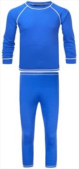 Manbi Kid's Supatherm Longsleeve Thermal Set, 7-8 Yrs Olympic Blue