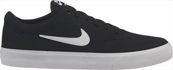 Nike SB Charge Solarsoft Canvas Skate Shoes UK 13 Black/White