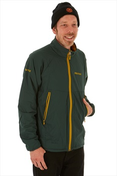 Marmot Dark Star Jacket Men's Insulated Polartec Alpha, L Dark Spruce