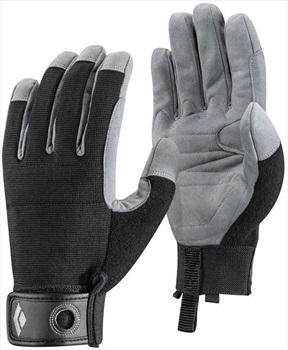 Black Diamond Adult Unisex Crag Rock Climbing Glove, M Black