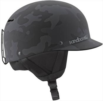 Sandbox Classic 2.0 Snow Ski/Snowboard Helmet, M Black Camo