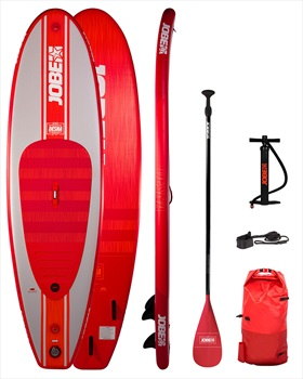 "Jobe Desna Inflatable SUP SUP Paddleboard Package, 10'0"" Red 2021"