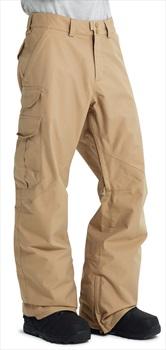 Burton Cargo Tall Fit Snowboard/Ski Pants, S Kelp Brown