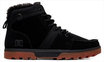 DC Woodland Men's Winter Boots, UK 9.5 Black/Gum