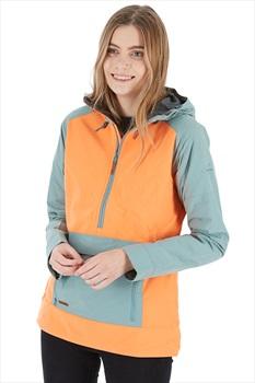 Dakine Pollox Softshell Women's Ski/Snowboard Jacket, XS Coastal/Melon