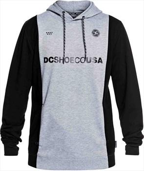 DC Snowstar FC Pullover Tech Ski/Snowboard Hoodie, M Neutral Grey