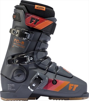 Full Tilt First Chair 8 Ski Boots, 28/28.5 Charcoal/Orange 2020