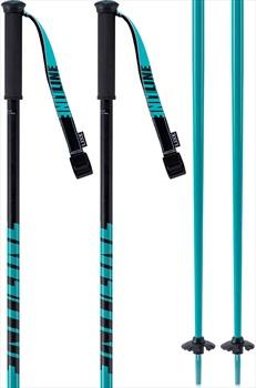 LINE Tac Ski Poles, 105cm Teal