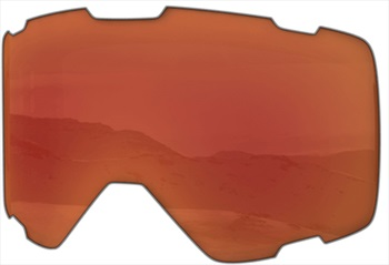 Melon Parker Ski/Snowboard Goggle Lens, One Size Red Chrome Sonar