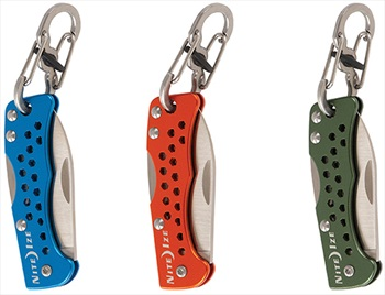 Nite Ize Doohickey Key Chain Knife Travel-Friendly Pocket Tool, Orange