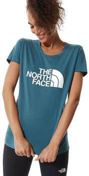 The North Face Womens Short Sleeve Easy Women's T-Shirt, S Mallard Blue