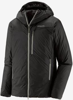 Patagonia DAS Light Hoody Insulated Water Resistant Jacket, S Black