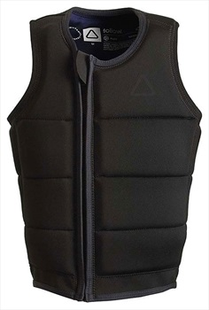 Follow Raph Collection Wakeboard Impact Vest, Small Black 2020