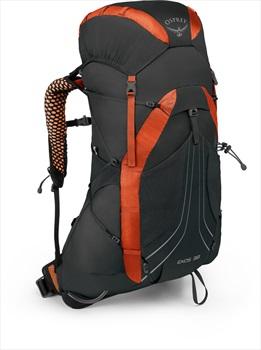Osprey Exos 38 MD Fast & Light Backpacking Pack, Blaze Black