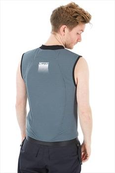 Amplifi Adult Unisex Reactor Ski/Snowboard Impact Vest, L Grey