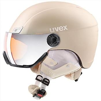 UVEX Hlmt 400 Visor Style Ski/Snowboard Helmet Medium Prosecco Met Mat