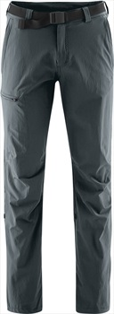 Maier Sports Adult Unisex Nil Roll Up Hiking Trousers, M Graphite Long