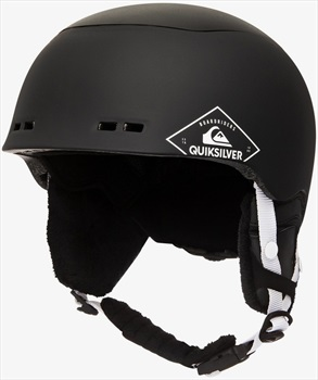 Quiksilver Lennix Ski/Snowboard Helmet, S/M Black