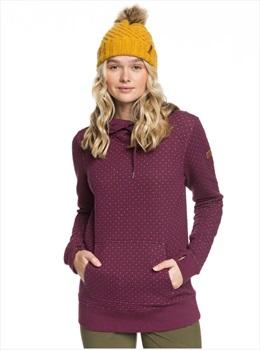 Roxy Dipsy Women's Snowboard/Ski Hoodie, XS Grape Wine