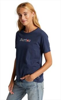 Burton FeelGood Women's Short Sleeve T Shirt, XL Dress Blue