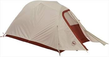 Big Agnes C-Bar 2 Lightweight Backpacking Tent, 2 Man Red