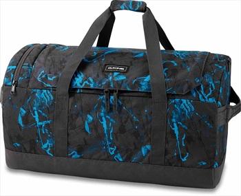 Dakine EQ Duffle Travel Luggage Bag, 70L Cyan Scribble