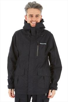 Homeschool Factory Parka Snowboard/Ski Jacket S Night