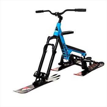 Sno-Go Ski Bike Downhill Snow Bike / Skibob, Blue