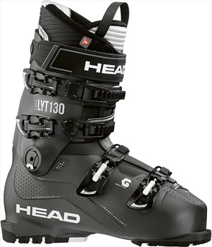 Head Edge LYT 130 Ski Boots, 28/28.5 Black/White 2020