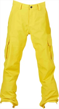 Bonfire Tactical Ski/Snowboard Pants XL Yellow