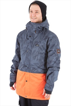 Planks Feel Good Ski/Snowboard Jacket, M Midnight Palm
