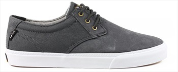Lakai MJ WT Skate Shoes UK 7 Charcoal Oiled Suede