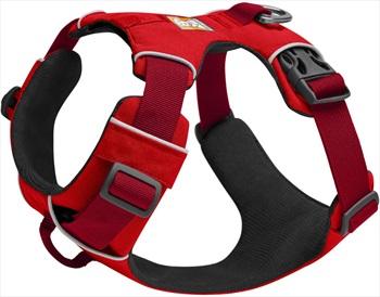 Ruffwear Front Range Harness Padded Dog Walking Harness, S Red Sumac
