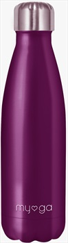 Myga Stainless Steel Water Bottle, 500ml Plum