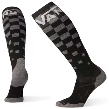 Smartwool PhD Snowboard Vans Light Elite Snowboard Socks, XL Checker