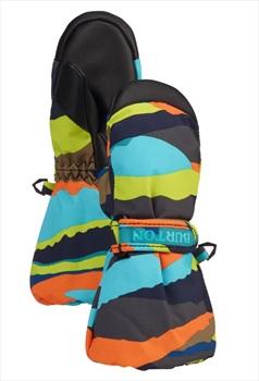 Burton Minishred Heater Mitt Youth Ski/Snowboard Mitt 4T Summit Stripe