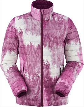 Eider Twin Peaks Reversible Women's Insulated Down Jacket, S, Pink