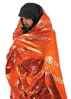 Lifesystems Thermal Survival Bag Emergency Blanket, OS Orange