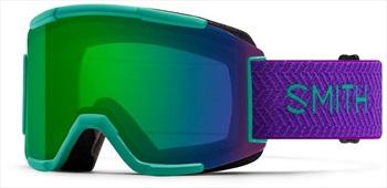 Smith Squad CP Everyday Green Snowboard/Ski Goggles, M Jade Block