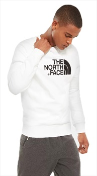 The North Face Adult Unisex Drew Peak Crew Pullover Jumper L TNF White