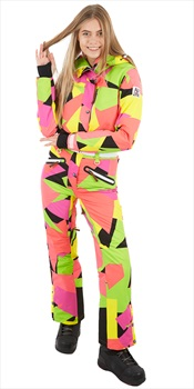 OOSC Snow Suit Women's Snowboard/Ski One Piece, L Hold Your Colour