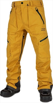 Volcom Guch Stretch Gore-tex Ski/Snowboard Pants, L Resin Gold