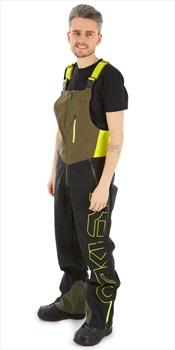 Oakley Timber 2.0 Shell Snowboard/Ski Bib Pants, S Dark Brush