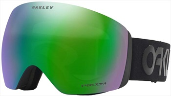 Oakley Flight Deck Prizm Jade Ski/Snowboard Goggles, L Blackout