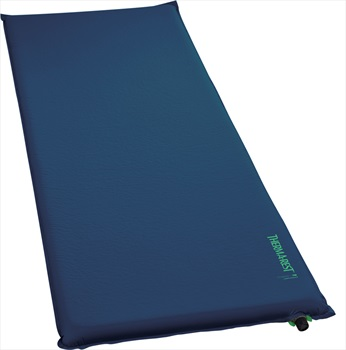 ThermaRest BaseCamp Mattress Self Inflating Airbed, Regular Poseidon