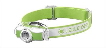 Led Lenser MH3 Headlamp IPX54 Led Head Torch, Green