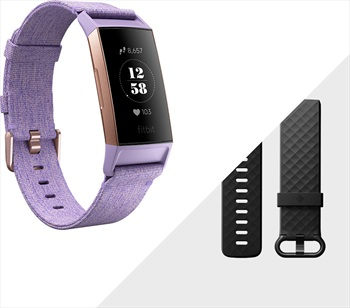 FitBit Fitbit Charge 3 SE Heart Rate & Fitness Tracker Lavender / Rose