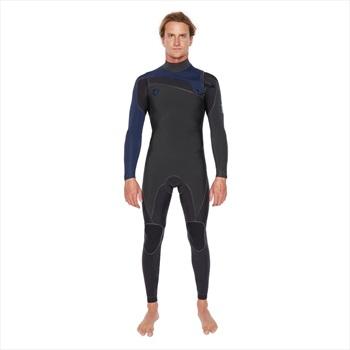 Body Glove Pr1me 3/2 Slant Zip Full Suit Surfing Wetsuit, M Blue Grey